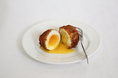 Breaded Fried Egg